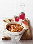 Sicilian-style fish soup