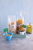 Grains, cereal products and pasta (gluten-free)