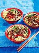Beef & noodle stir-fry