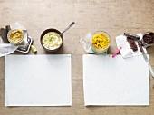 Vier vegetarische Brotaufstriche aus der Palelo-Diät