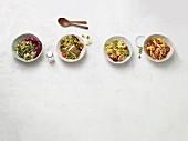 Vier sättigende Salate aus der Paleo-Diät