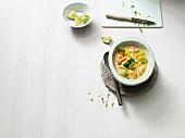 Rotes Gemüse-Curry mit Süsskartoffeln (Paleo-Diät)