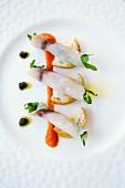 Tuscan swordfish rolls
