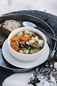 Kapusniak (traditional cabbage soup from Poland)
