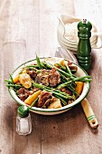 Lamb bredie with green beans