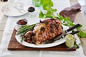 Maggie Beer - Maggie s Barossa Easter - Roast leg of lamb with anchovy and garlic