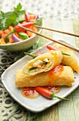 Risoles (chicken ragout wrapped in pastry, Indonesia)