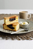 Four-Quarter Cake with Prunes