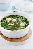 Clear Asian Broth with Fish Balls