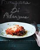 Parmigiana di melanzane (aubergine bake with Parmesan cheese, Sicily)