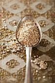Quinoa on a spoon