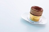 Spiced chocolate soufflé