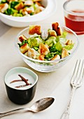Caesar Salad mit Hähnchenbrust