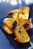 Olive bread crostini