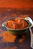 A bowl of chilli powder