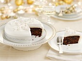 Christmas cake (Great Britain)