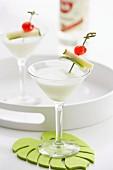 Pina Colada (Cocktail mit Kokosmilch)