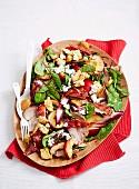 Pork, Nectarine and Goat s Cheese Salad