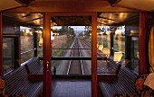 A view from the luxury train Rovos Rail (journey from Durban to Pretoria, South Africa)