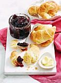 Cherry Rosewater Jam