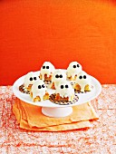 Geist-Schnitten zu Halloween
