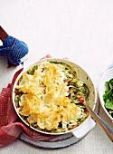 Chicken & Vegetable Skillet Pie