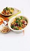 Pork & Crunchy Noodle Salad