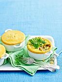Chicken & Kale Pot Pies