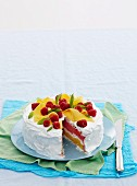 Frozen vacherin cake