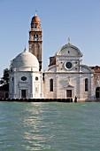 The cemetery island near Venice, Italy
