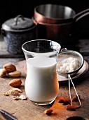 Almond milk à la Hildegard von Bingen