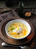 Cream of fennel soup with orange juice à la Hildegard von Bingen