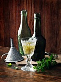 Spearmint wine à la Hildegard von Bingen
