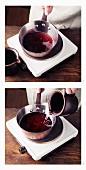 Gelöschten Wein nach Hildegard von Bingen kochen