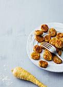 Buckwheat and parsnip gnocchi