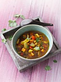 Oriental vegetable soup (detox)