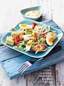 Gado Gado (vegetable salad with tofu and egg, Indonesia)