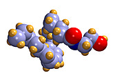 Anandamide neurotransmitter molecule