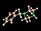 Benzylpiperazine drug molecule