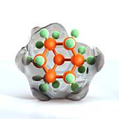 Adamantane molecule