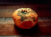 Mouldy apple