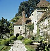 Garden at Rymans house,west Sussex