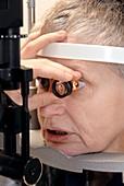 Emergency eye examination