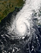 Tropical Cyclone Sidr,satellite image