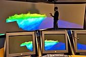 Virtual reality coastal erosion model