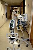 Nurse and hospital equipment