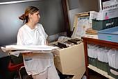 Nurse and hospital records