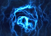 Electrical effect,computer artwork