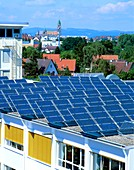 Rooftop solar panels,Germany
