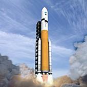 Ares V rocket,artwork